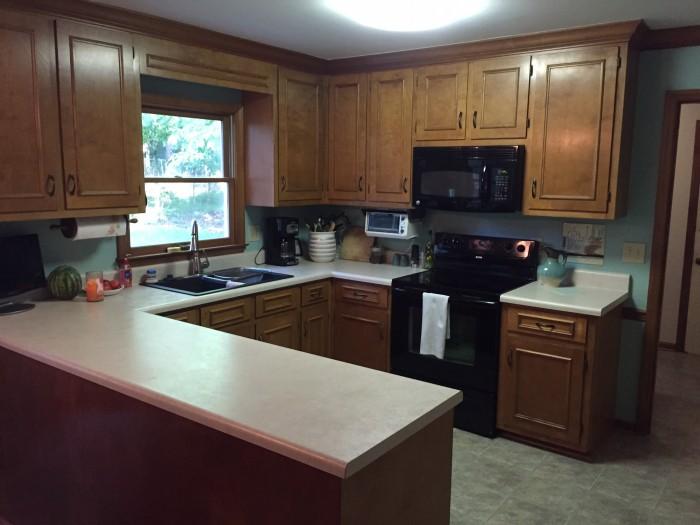 durham kitchen before