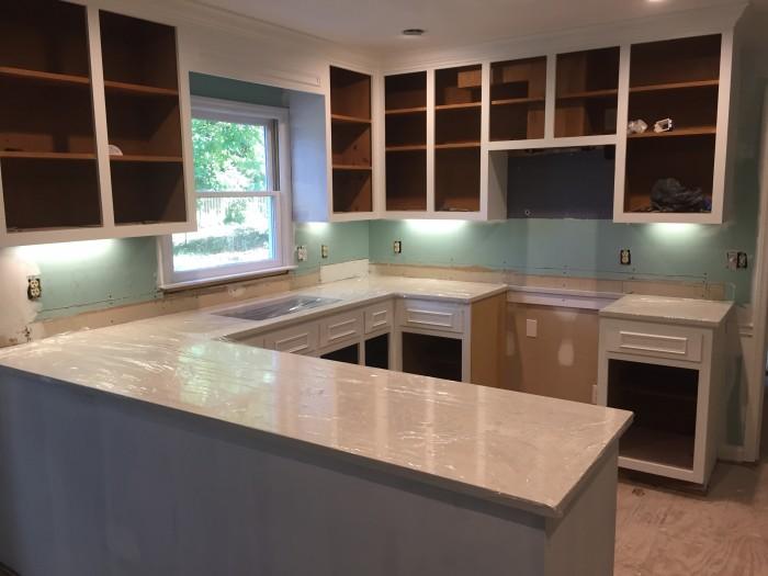 Durham kitchen progress