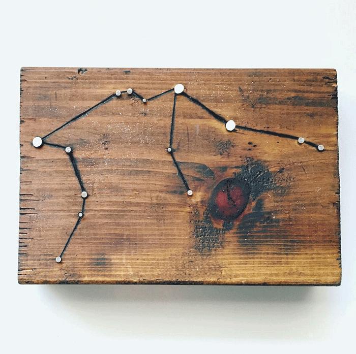 Laurel-Wood-Gems-Constellation-on-Rustic-Wood