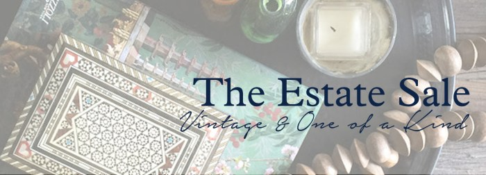 The Estate of Things ESTATE SALE Vintage and One of Kind Goods by the estate of things for SHOP TEOT