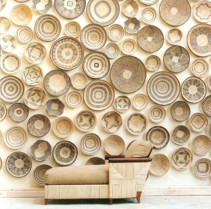 baskets on the wall via honestlywtf