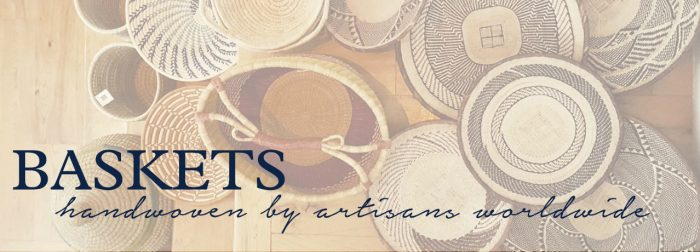 vintage african baskets by the estate of things for shop teot