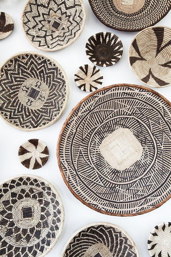 zimbabwe Wall of Baskets closeup