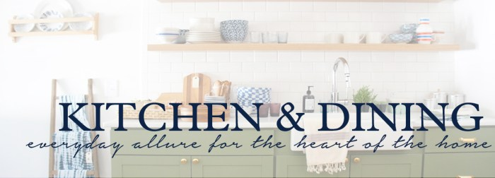 kitchen and dining by the estate of things for shop teot