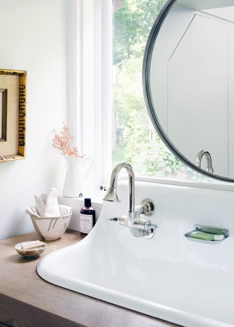 Bathroom Mirror In Front Of Window bathroom mirrors over windows | the estate of things