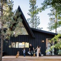 The A-frame Cabin