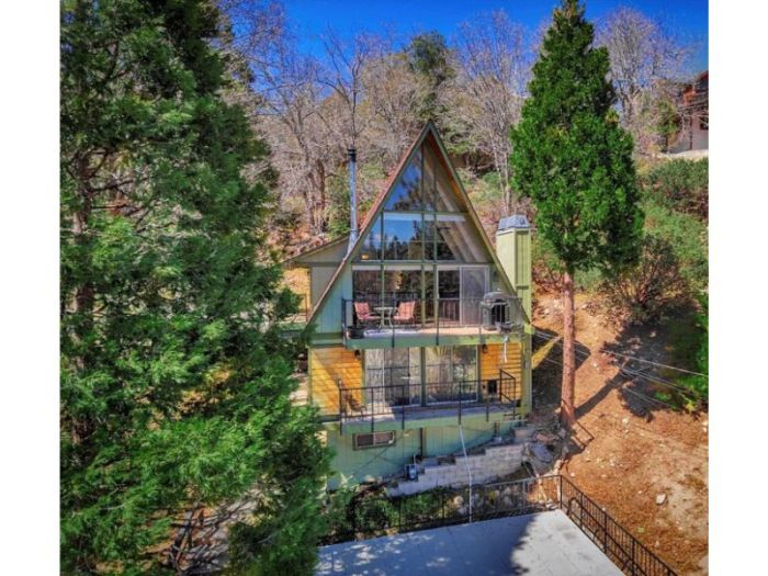 Estate Envy: An A-frame in Lake Arrowhead