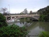 bridge over Cataract Gorge, Launceston, Tasmania