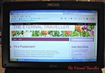 a little bit of blogging