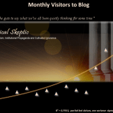 The Ethical Skeptic Monthly Visitors