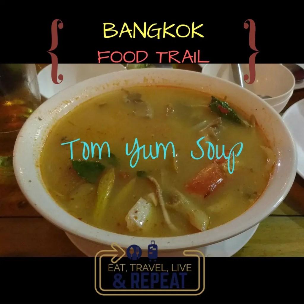 tom yum soup ETLR Bangkok Food Trail