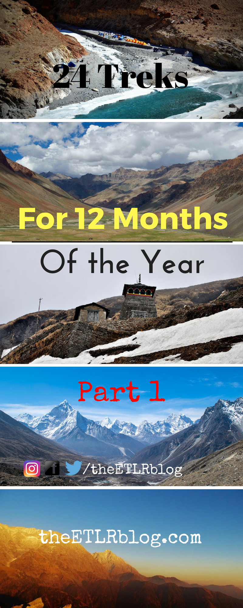 So which of the 24 treks are you attempting this year?