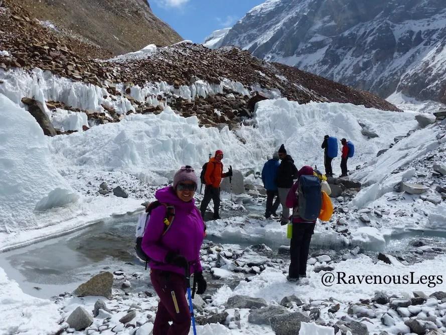 Kalindi Kahl trek in the Himalayas