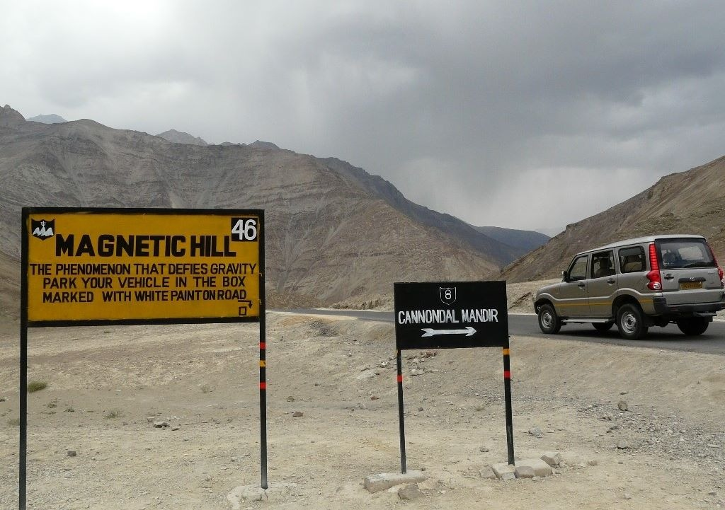 magnetic hill 7 day trip to leh ladakh itinerary