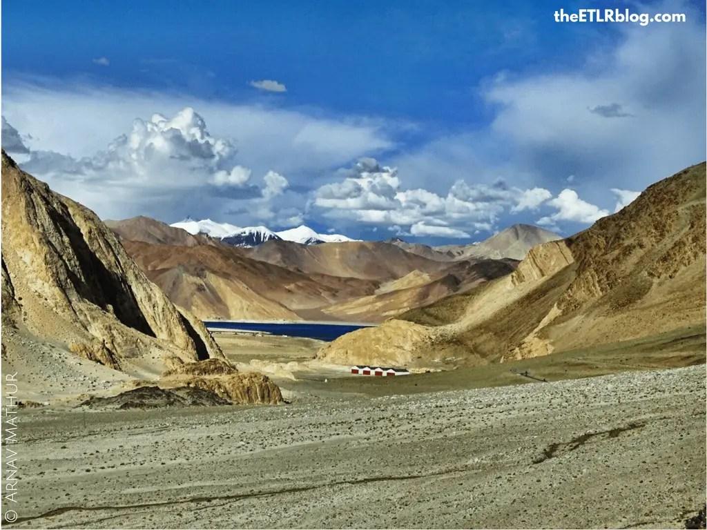 Photo Journey to Leh - Ladakh - first glimpse of Pangong Tso