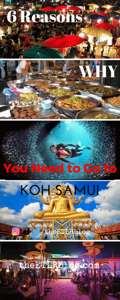 6 Reasons Why You Should Travel to Koh Samui