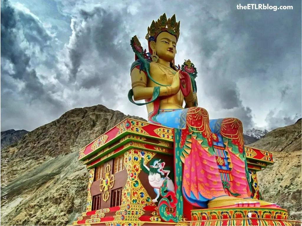 Ladakh your Instagram favorite destination - Diskit