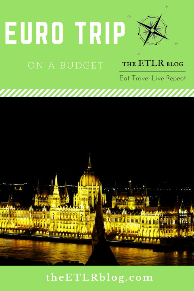 EuroTrip in a Budget #EatTravelLiveRepeat