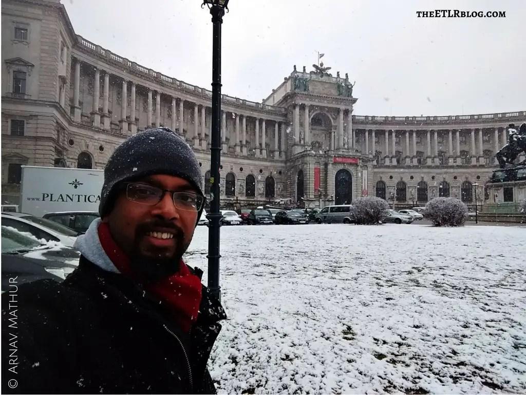 Hofburg Vienna Euro Trip theETLRblog