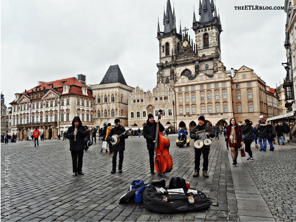 Prague Old Town Square Europe