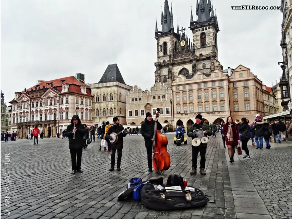 Prague Old Town Square Europe