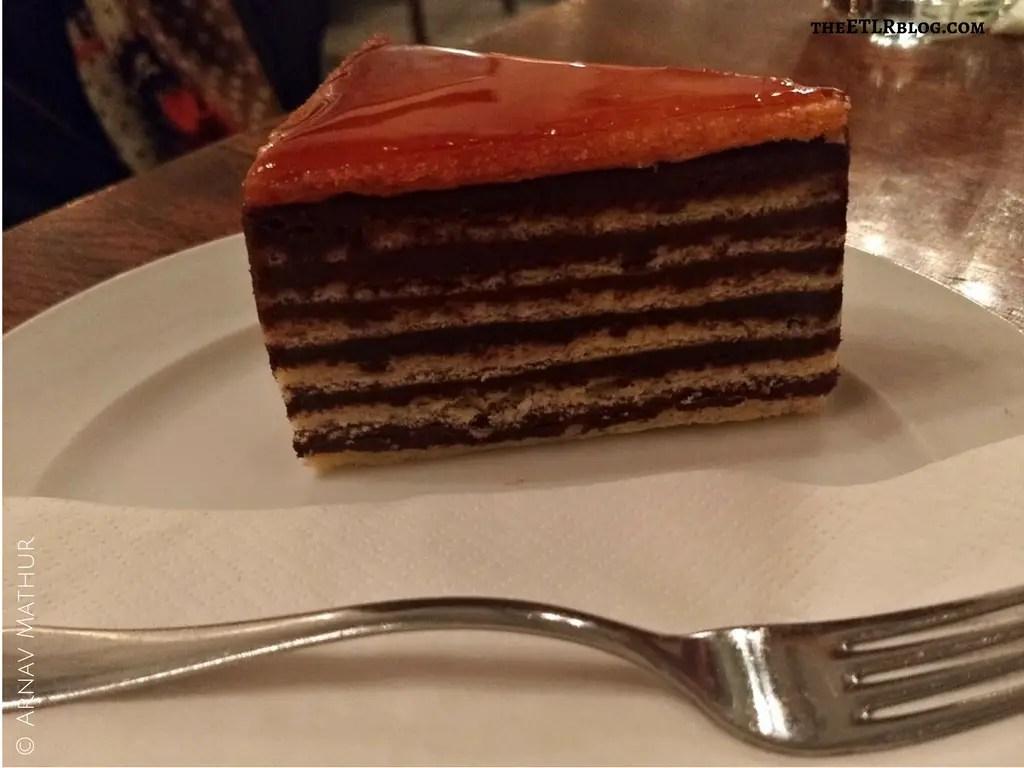 The Quintessential Budapest Food Guide Hungary Callas Cake