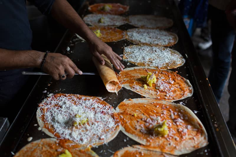 Street food in Bangalore theETLRblog