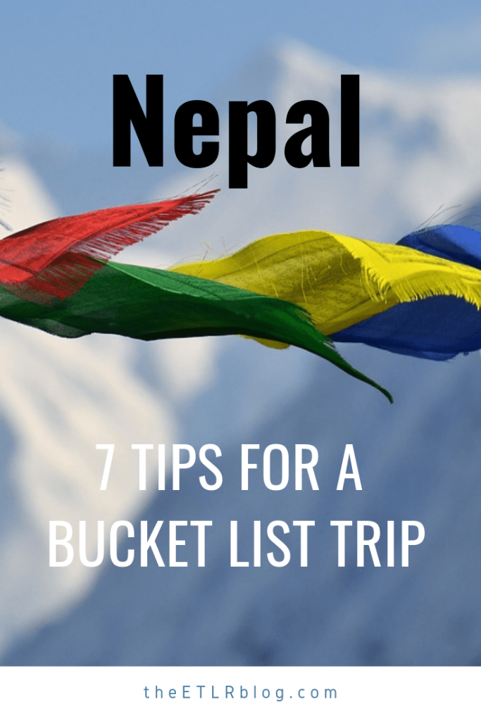 7 Tips for a #Nepal Trip
