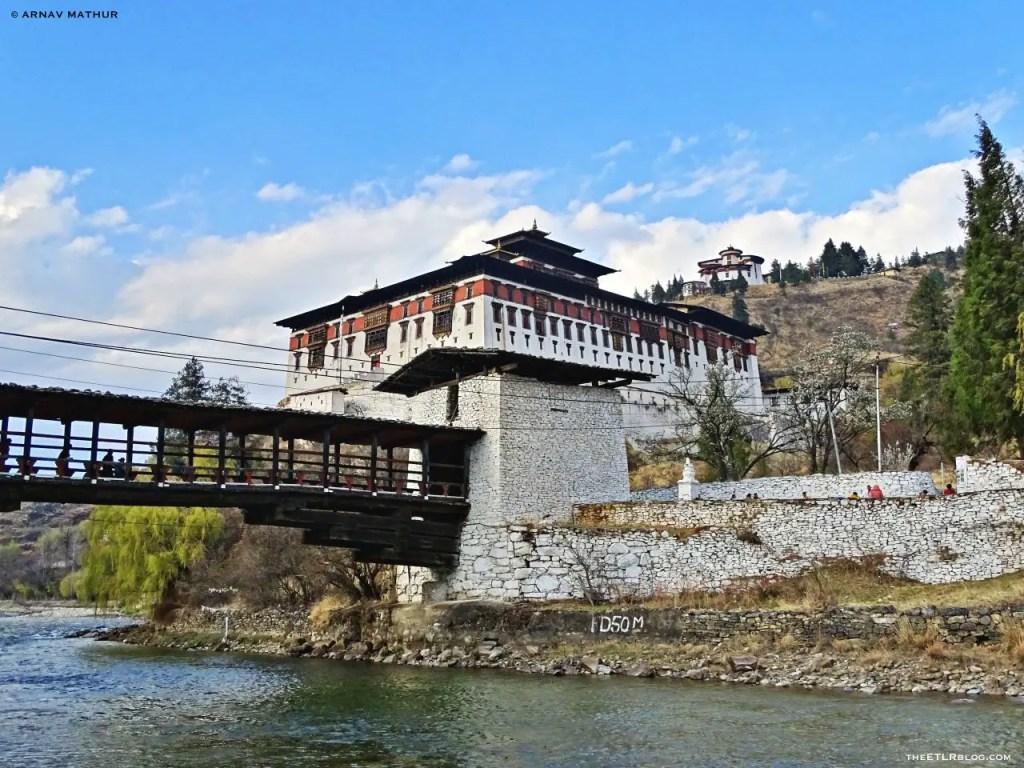 Paro Dzong 7 Day Road Trip to Bhutan
