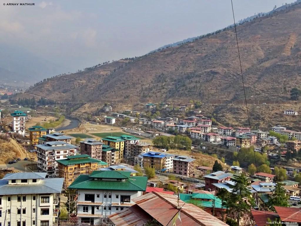 Thimphu city - 7 Day Road Trip to Bhutan