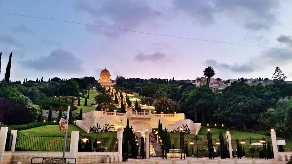 Bahaii Gardens Haifa Israel
