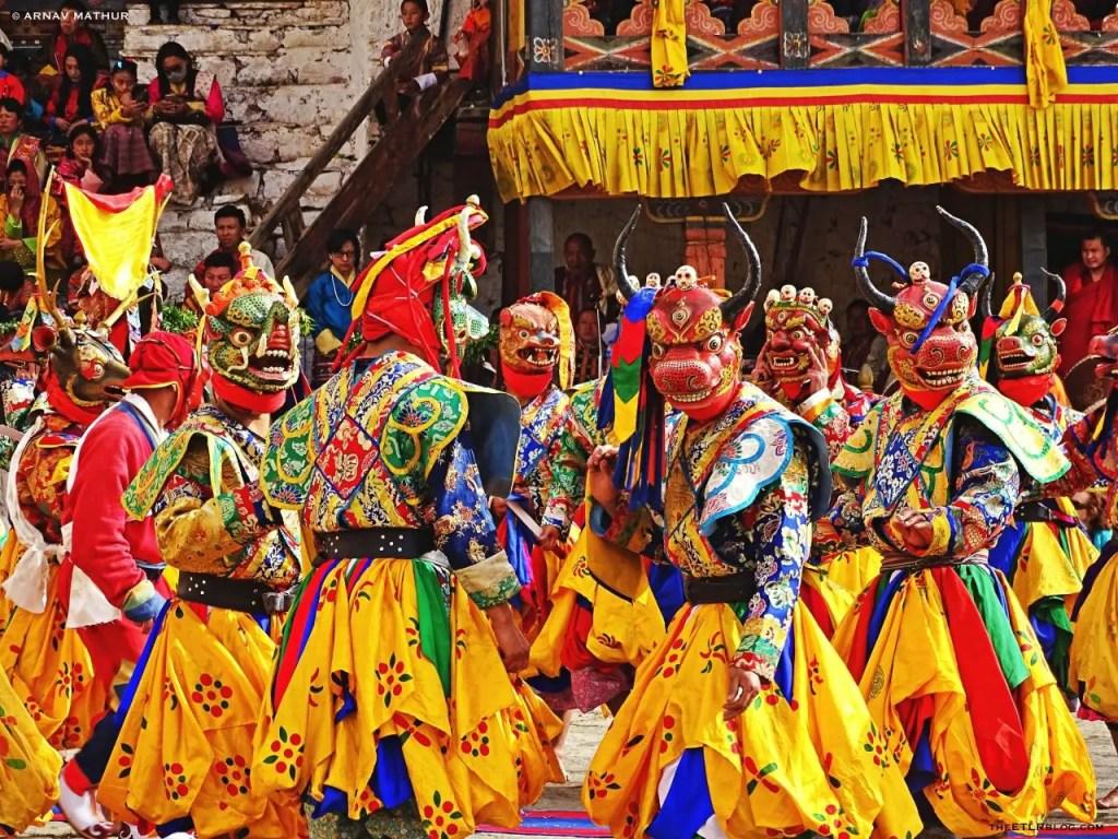 Paro Tsechu Top 10 Things To Do In Bhutan | Eat Travel Live Repeat