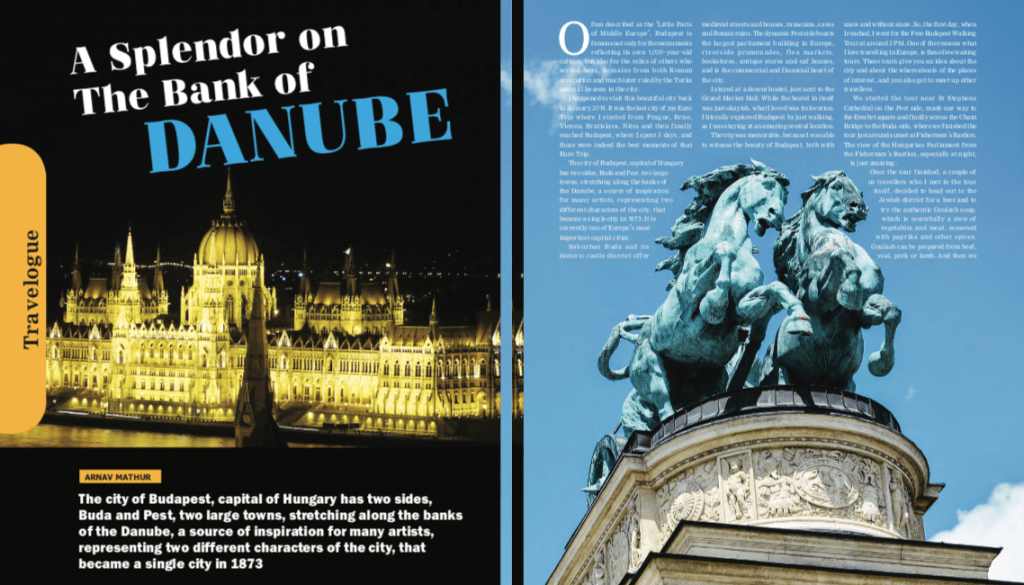 The Budapest City Guide ETLR Print Media