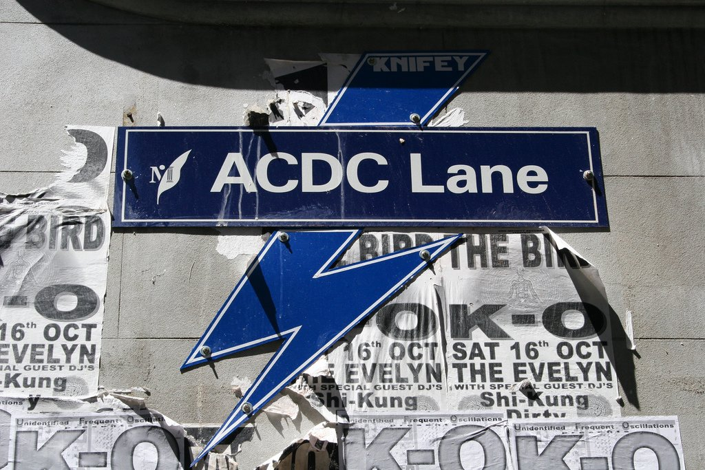 ACDC Lane Melbourne