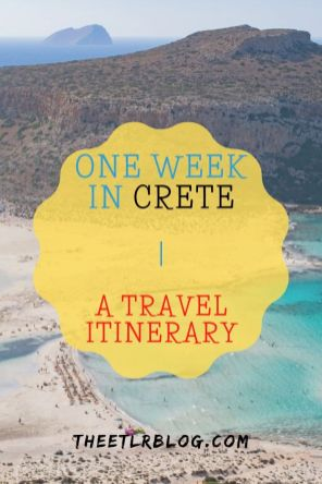 Crete Travel Blog