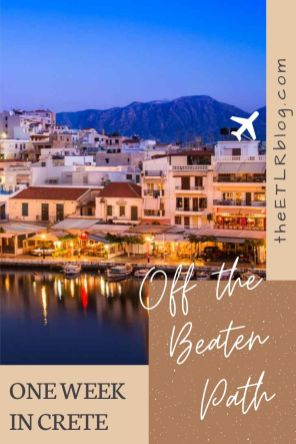 Crete Travel Guide and 7Day Itnerary