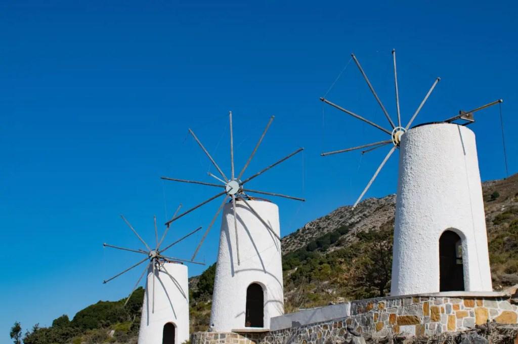 Windmills Lasithi Plateau