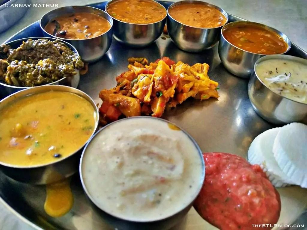 Himachali Thali @ Suryansh Bhojnalaya | Bir Billing Food Blog