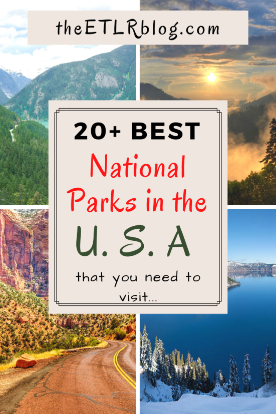 20+ Best National Parks in the USA