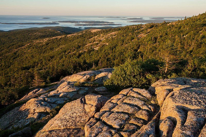 View from Cadillac Mountain | Acadia National Park in the USA