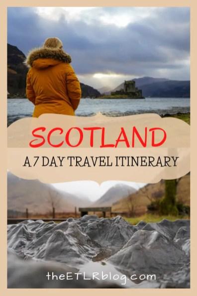 One Week Scotland Itinerary