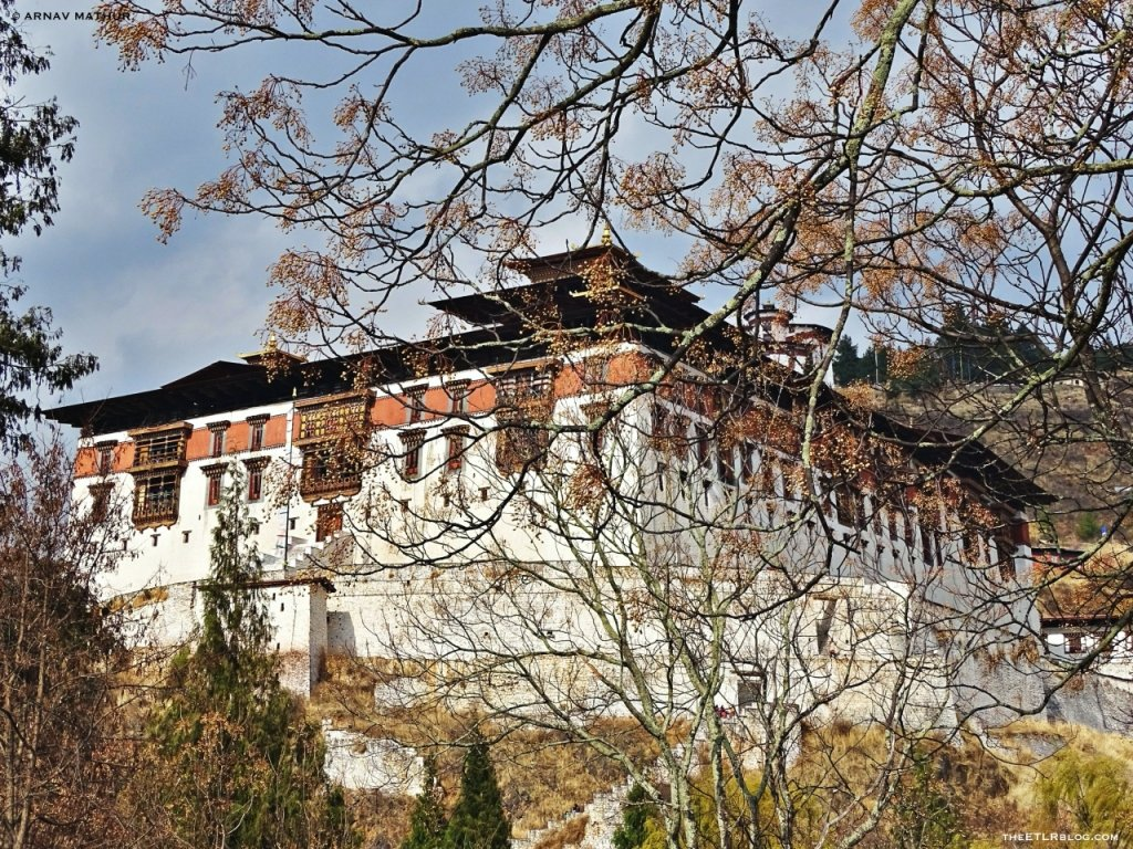 Paro Dzong - Bhutan Photo Blog by Arnav Mathur