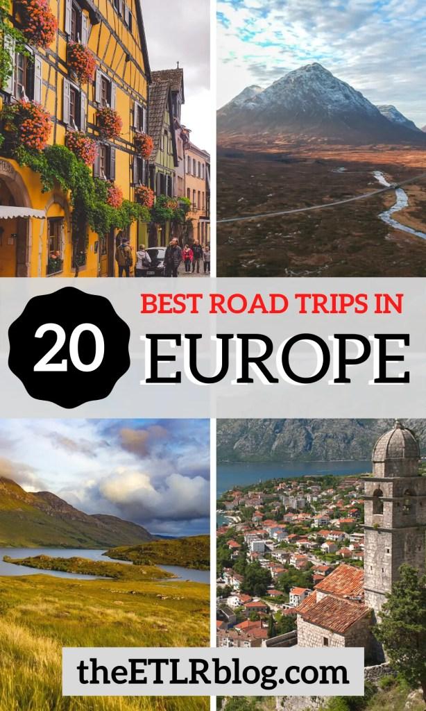 20 Best Road Trips in Europe | theETLRblog