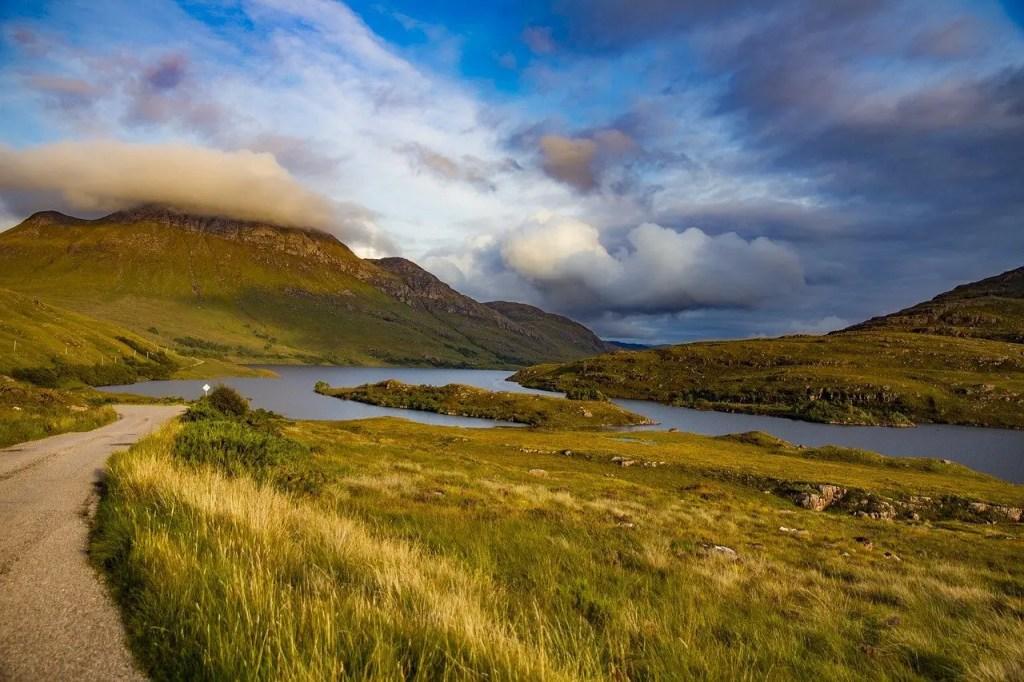 The scenic NC 500 Road Trip in Scotland