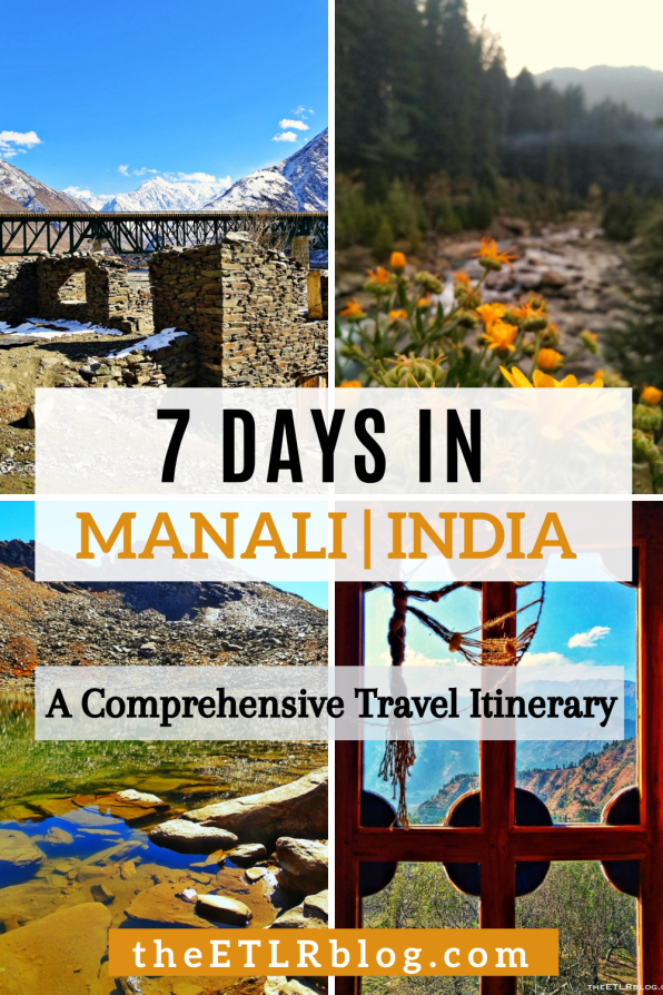 7 Day Manali Travel Itinerary