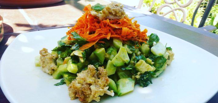 σαλάτα, salad, summer salad, green salad, πράσινη σαλάτα, καλοκαιρινή σαλάτα