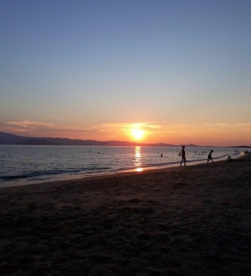 Νάξος, ηλιοβασίλεμα