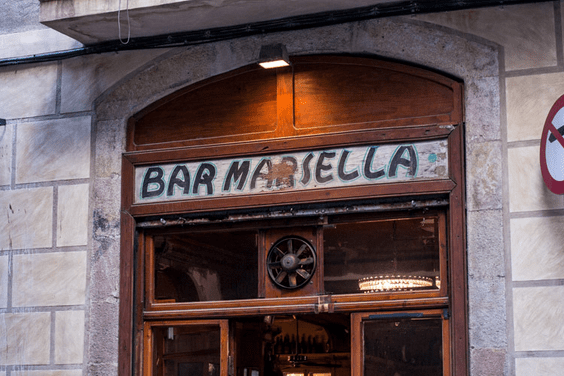 Bar Marsella, Barcelona