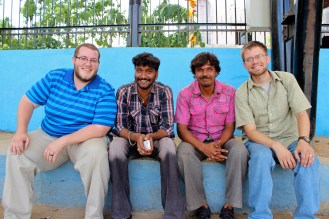 Matt and I spent a good chunk of our trip getting to know these guys and sharing Jesus with them.