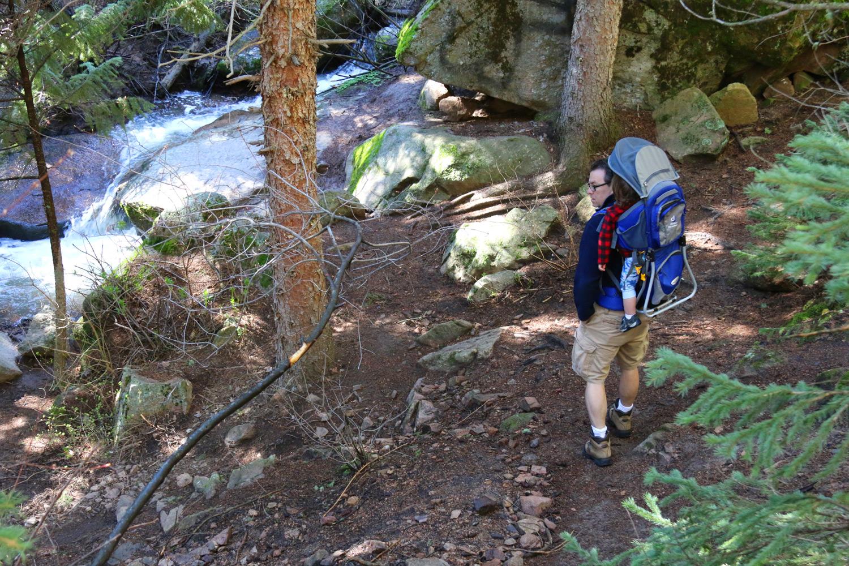 upper-maxwell-falls-river - Evergreen Colorado